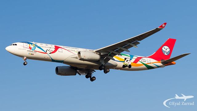 TLV - Sichuan Airlines Airbus A330-300 B-5945