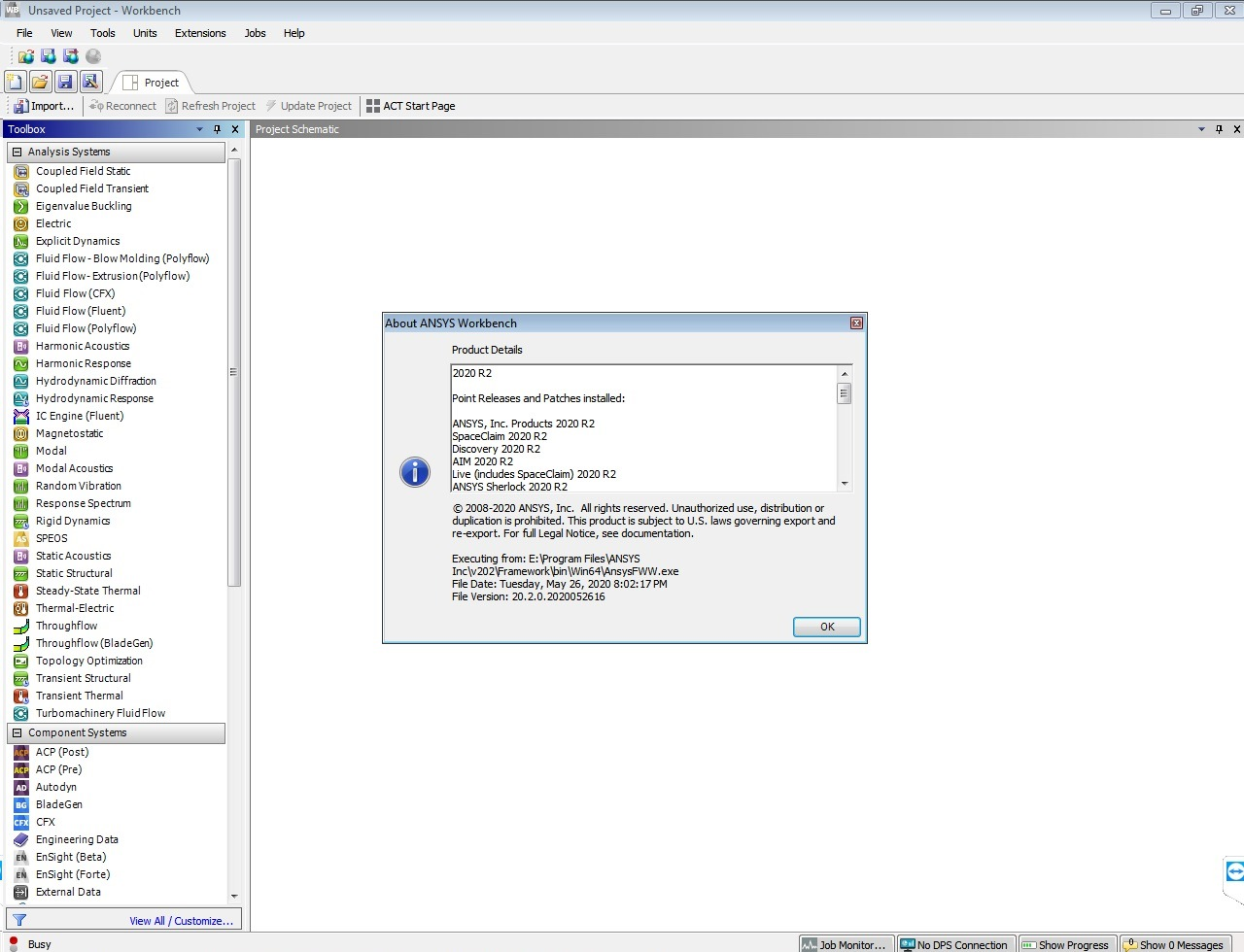 Working with ANSYS Products 2020 R2 Linux64 full license
