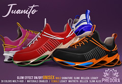 """Phedora for FaMESHed ~ """"Juanito"""" Sneakers ♥"""