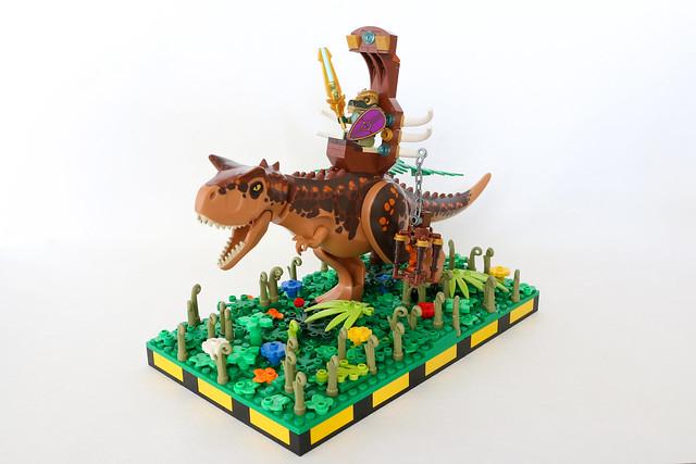 Legendary Lord on Carnosaur