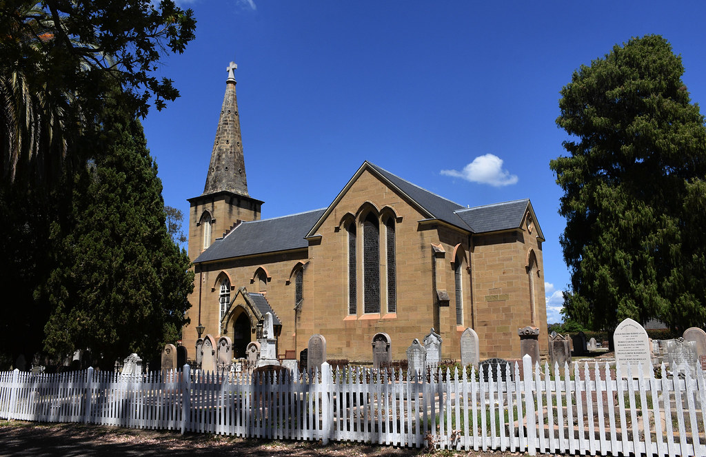 St Paul's Anglican Church, Cemetery, Cobbitty, Sydney, NSW.