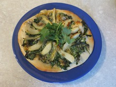 Rocket, Pear and Stilton Pizza