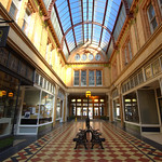 Inside the Victorian Miller Arcade in Preston