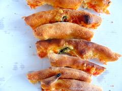 Welcher Belag und welches Gewürz schmückten diese Pizza?