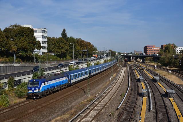 ČD 193 292 met LM van EC, Berlin Westend, 21-09-2018