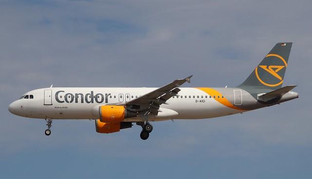 Condor, D-AICI, MSN 1381, Airbus A 320-212, 04.07.2020, FRA-EDDF, Frankfurt