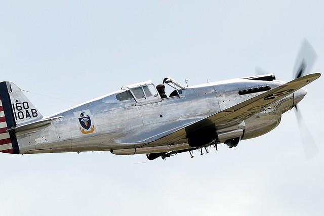 TFC Curtiss P-40C Tomahawk 1941 with the USAAF s/n 41-1335 G-CIIO 160-10AB ABF_1459