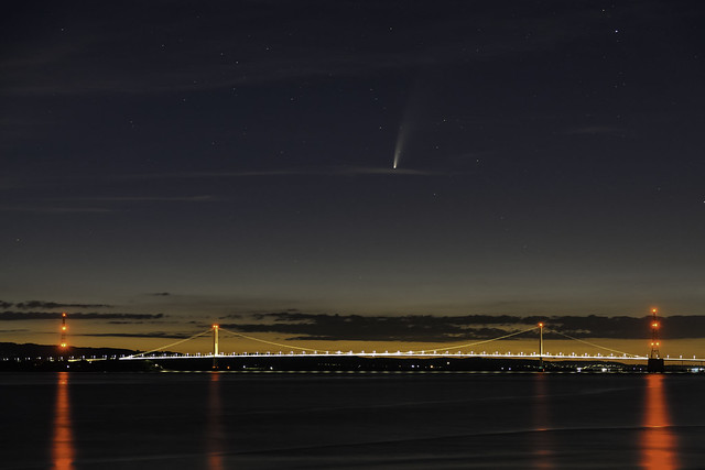 Neowise and Severn Bridge