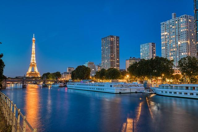 Front de Seine, Paris 15.