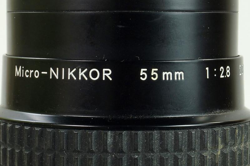 RD30690 Nikon F3 35mm SLR Film Camera with Nikon Micro NIKKOR 55mm 1_2.8 DSC09100