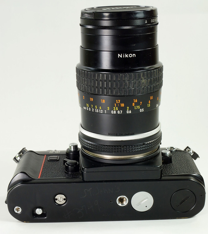RD30690 Nikon F3 35mm SLR Film Camera with Nikon Micro NIKKOR 55mm 1_2.8 DSC09096