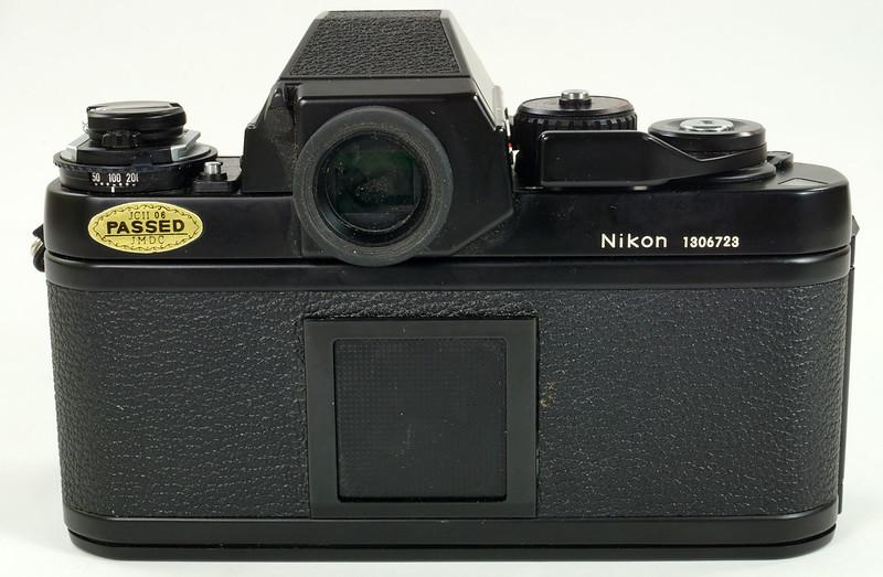 RD30690 Nikon F3 35mm SLR Film Camera with Nikon Micro NIKKOR 55mm 1_2.8 DSC09094