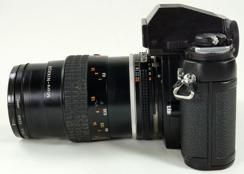 RD30690 Nikon F3 35mm SLR Film Camera with Nikon Micro NIKKOR 55mm 1_2.8 DSC09093