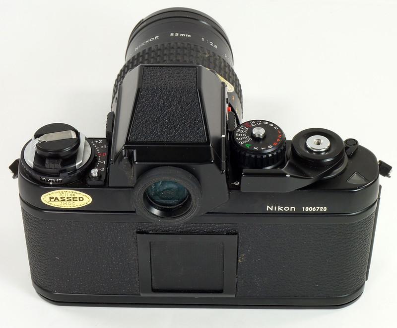 RD30690 Nikon F3 35mm SLR Film Camera with Nikon Micro NIKKOR 55mm 1_2.8 DSC09089