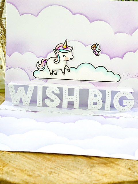 Wish big! (Lawn Fawn inspiration week)