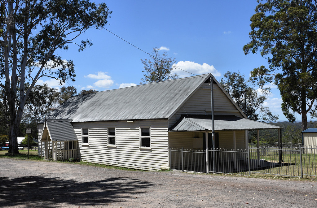 St Paul's Anglican Church, Cobbitty, 1842, Sydney, NSW.