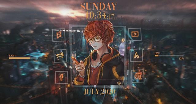 Anime desktop 2.0