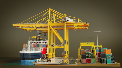 Tour at the Container Terminal (Eye-level)