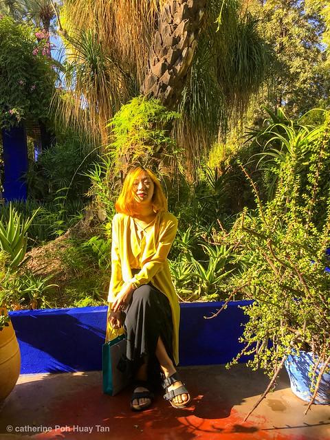 Yves Saint Laurent Garden, Marrakech, Morocco, 摩洛哥