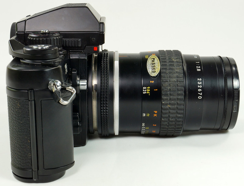 RD30690 Nikon F3 35mm SLR Film Camera with Nikon Micro NIKKOR 55mm 1_2.8 DSC09095