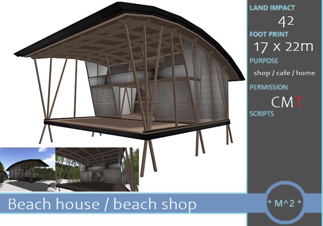 * M^2 * Beach Home / Beach Shop