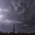 11. Juuli 2020 - 20:05 - Dark stormy sky over Tucson AZ