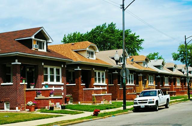 Bungalows on 3200 Block of S. Pulaski, Chicago