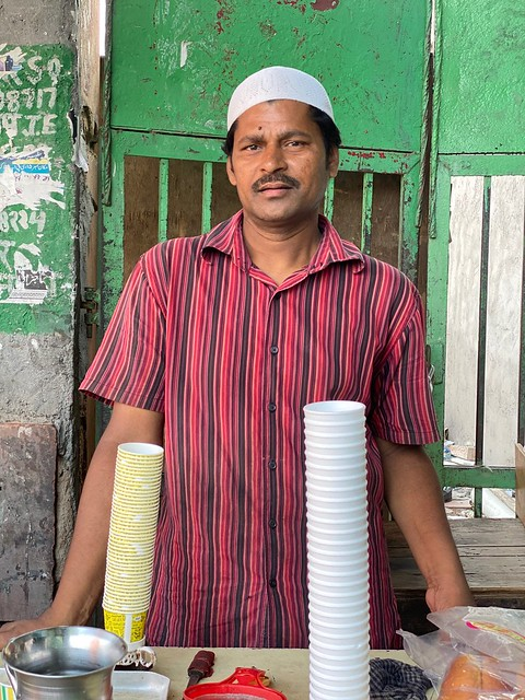 City Food - Chai Stall by the Twin Sufi Shrines, Old Delhi