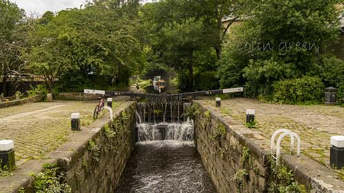 Rochdale Canal Lock 19, Todmorden