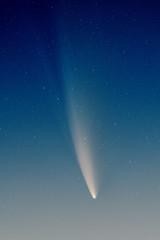 Comet NEOWISE in the dawn light by m i k e h a w k i n s