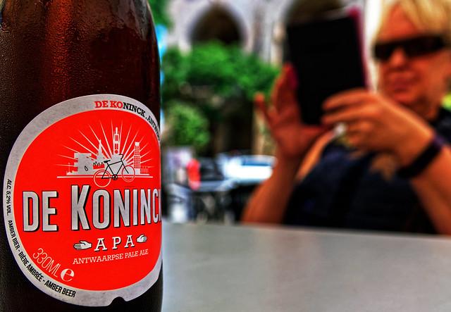 When in Spain (Bottle of Belgium De Koninck APA) Panasonic LX15