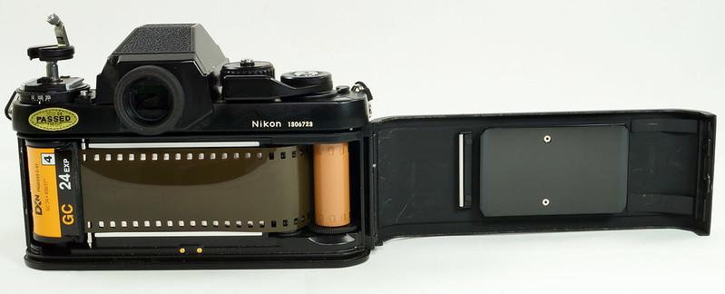 RD30690 Nikon F3 35mm SLR Film Camera with Nikon Micro NIKKOR 55mm 1_2.8 DSC09097