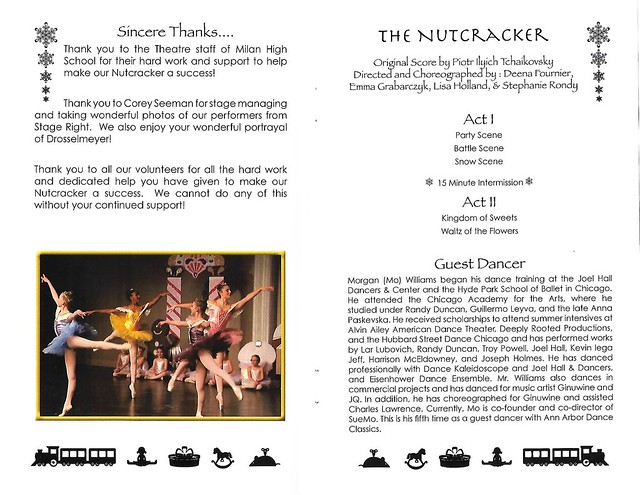Program - Ann Arbor Dance Classics Nutcracker (2018)