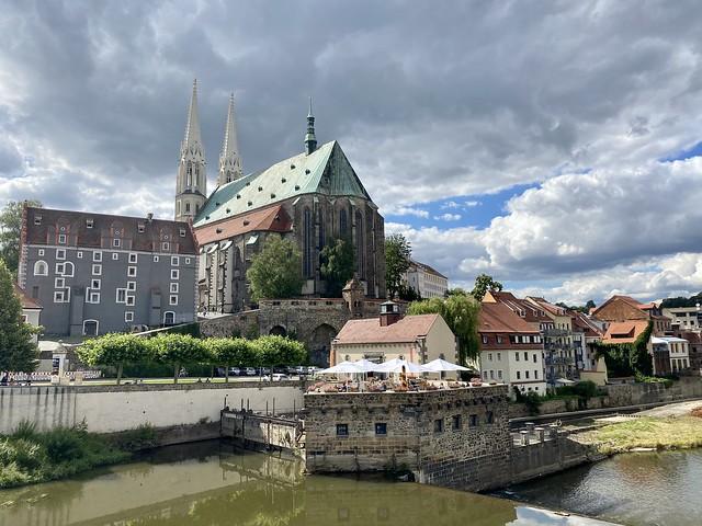 St. Peter in Görlitz seen from Poland