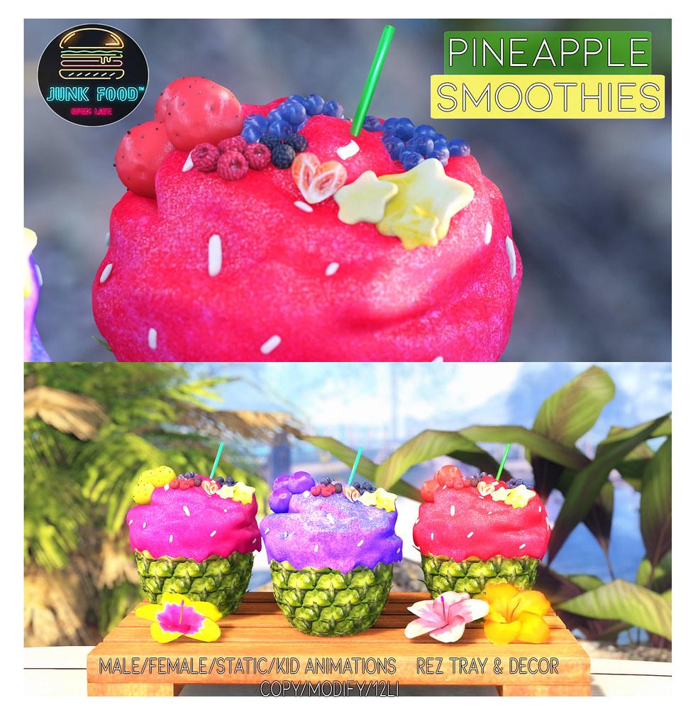 Junk Food – Pineapple Smoothies Ad