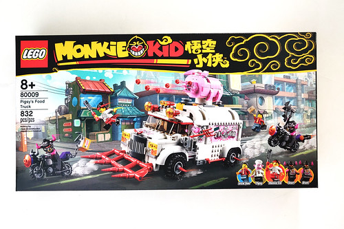 LEGO Monkie Kid Pigsy's Food Truck (80009)