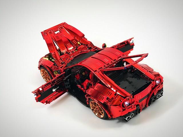 Ferrari F12 chromed - check it @loxlego