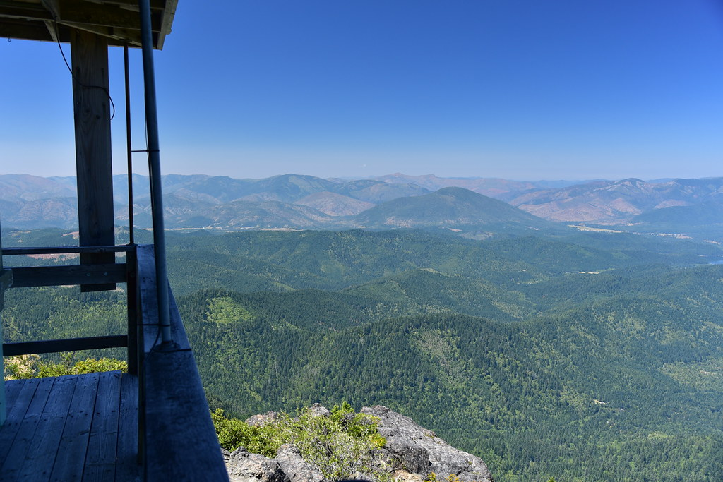 View from Little Grayback Lookout