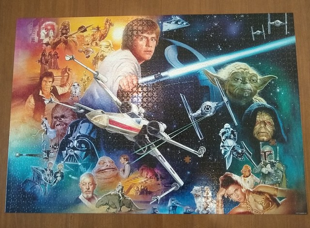 2000-piece Star Wars Puzzle