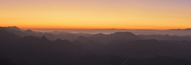 view from the top of malibu mountain