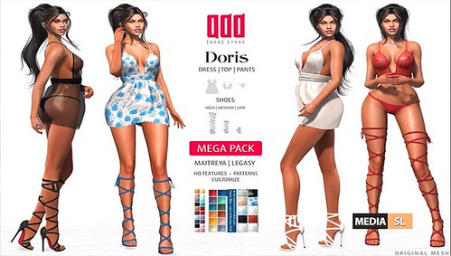 [ADD] Doris Look – NEW - Giveaway! | by Media-SL