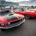 Mustang Mach-1 ´69 and GTO ´70