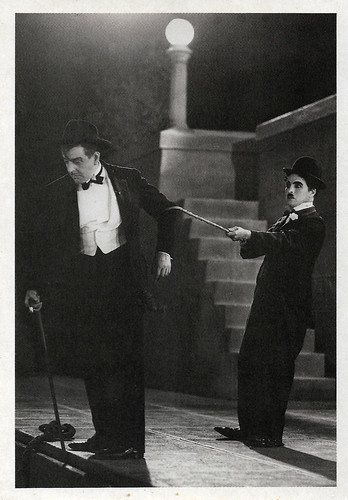 Harry Myers and Charlie Chaplin in City Lights (1931)
