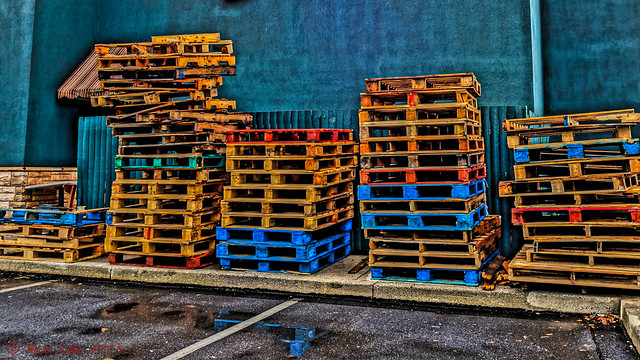 Colorful Pallet Racks