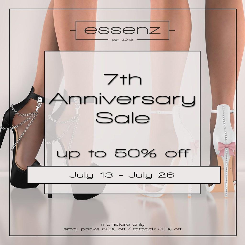 Essenz – 7th Anniversary Sale