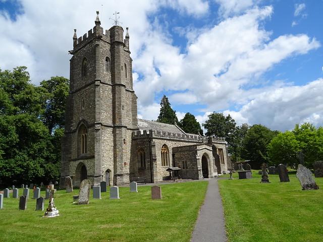 St Giles' Church, Bradford-on-Tone, Taunton, Somerset TA4 1HG