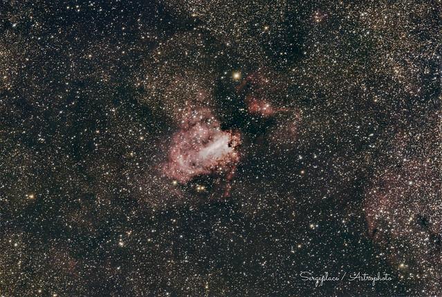 M17 : Omega Nebula