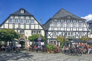Café am Markt und Jägerhof in Brilon