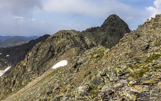 Pic de l'Angonella desde el Pic de Cataperdís, Andorra