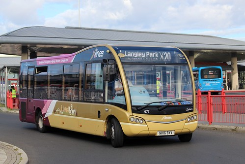 Go North East: 677 / NK16 BXV | by Northern Transport Photos